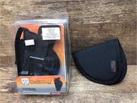 2- holsters, Bulldog Size 20, small Velcro