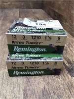 "2- Remington Nitro Turkey 12ga. 3"" #6"