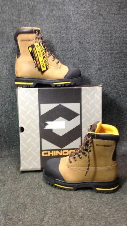 a39470513b3 Men's Chinook Tarantula Steel Toe Boots Sz 8 New | Bid Kato