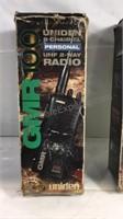 Pair of Uniden GMR radios
