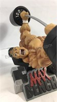 MAX Bench workout figure