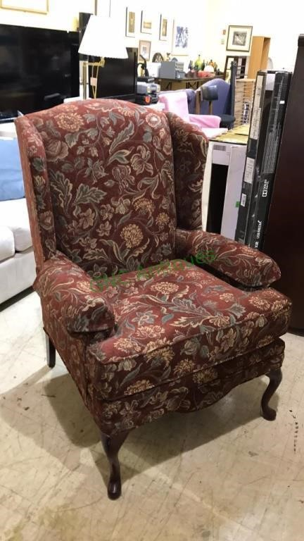 Jetton Furniture Co Wing Back Chair