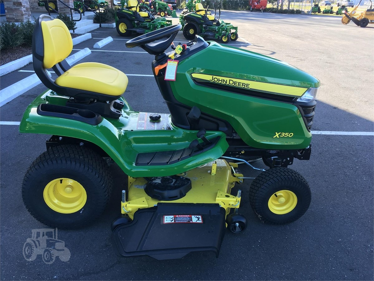 2020 John Deere X350 For Sale In Gainesville Florida Tractorhouse Com