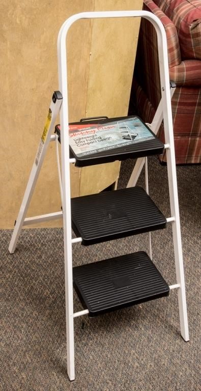Admirable Skinny Mini Step Stool By Tricam The K And B Auction Company Machost Co Dining Chair Design Ideas Machostcouk