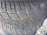 Trailer Tires on Rims