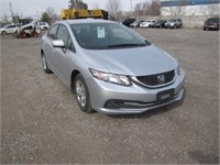 2015 HONDA CIVIC 170132 KMS