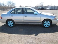 2004 NISSAN SENTRA 139357 KMS