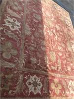15x11 floral handmade rug