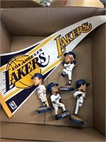Box of LA memorabilia
