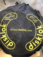 Disklok Steering lock