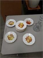 Lot of 12 Bavarian plates