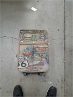 Route 66 travel briefcase