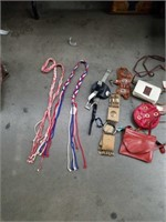 Miscellaneous womens belts and small bags