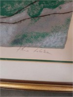 Signed Theo Tobiasse print Exodus