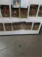 Set of 12 jumbo Michael Jordan cards