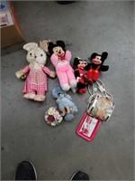 Old disney stuffed toys