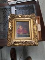 1800s Catholic Cardinal original painting