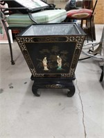 Asian planter with stand