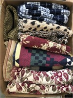 Boxes of blankets