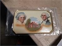 George Washington porcelain tray-1732-1932