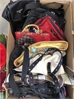 Box of purses/ polo sport bags