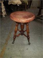 Ball and claw stool