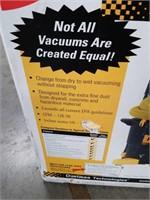 Tank vacuum