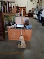 Bundle of brooms