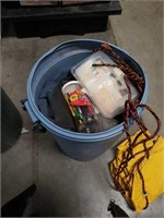 Barrel of garage and household