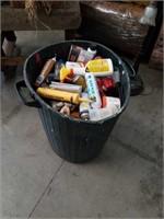 Barrel of garage