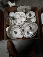 Box of CUTHBERTSON English  Xmas tree China