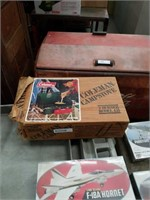 Coleman camp stove in the Box