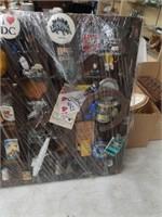 Shelf full of Knick knacks