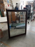 Bevel edge wall mirror