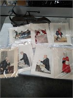 Bag w/pictures of judges