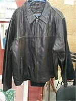 Leather jacket Eddie Bauer
