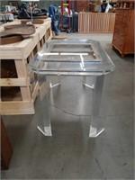 Modern acrylic game table