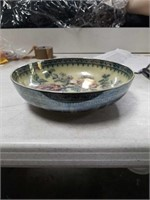 Porcelain painted bowl made in England