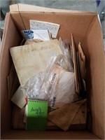Box of paper goods