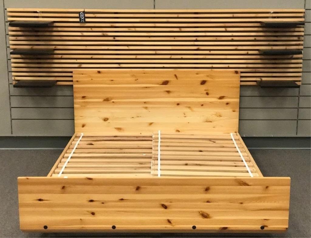 Sultan Lade Double Bed Frame from IKEA w/Headboard | Tenn