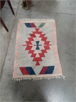 Handmade prayer rug