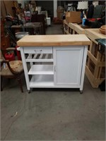 Modern kitchen cart