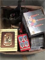 Box of misc Xmas