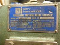Horizontal - Vertical Metal Bandsaw
