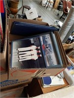 Box of Navy pictures and document