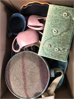 Box of misc canteen