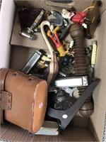 Box of miscellaneous, Harmonicas