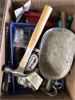 Box of miscellaneous tools