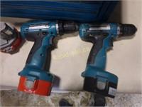 Makita Drills & Tool Case