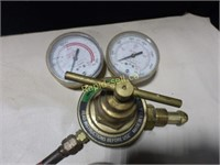 Acetylene Torch with Gauges